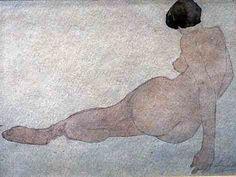 Rodin watercolor