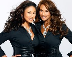 Model Beverly Johnson with her daughter...it is genetic