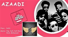 "Yeh AZAADI hai Music Ki , Melody Ki !! #Localturnon interacts with AZAADI the band n finds a group that lives Music, talks #Melody & tunes. For this #band from #Delhi we have one word ""#AWESOME"" . Read our #LTO #BLOG for more! Book AZAADI the band for gigs @ www.localturnon.com/bookings #turnon #music 
