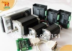 274.65$  Watch here - http://alig17.worldwells.pw/go.php?t=643539035 - 3 Axis CNC controller kit 425oz &1600 oz-in Step Motor