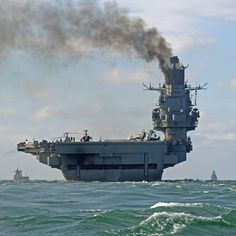 Don't laugh at Vladimir Putin's rusty navy - at least the Russians have an aircraft carrier