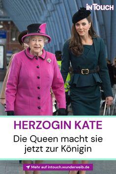 Für Königin Elizabeth (95) hat sich durch den Tod ihres geliebten Philip († 99) alles geändert. Die Queen weiß, sie muss jetzt handeln: Sie macht Kate (39) zur Königin! #queenelizabeth #herzoginkate #deutschestars #stars #promis #deutschepromis #vipnews #prominews #intouch George Vi, Royal News, Vip News, God Save The Queen, Die Queen, Prinz William, Prinz Harry, Gisele, Style