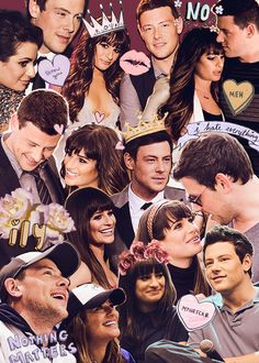 requested: lea michele + cory monteith