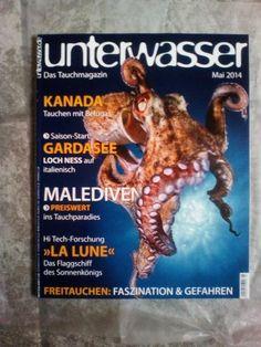 Unterwasser!Das Tauchmagazin!Ausg.:  Mai 2014!NEU!