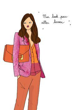Great little outfits for working girls http://www.doitinparis.com/en/mode-femme/le-look-de-la-semaine/des-petites-tenues-canons-pour-aller-bosser-1850 #fashion