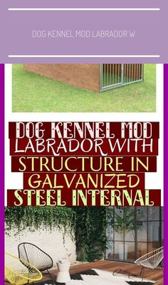 Latest Pics Dog Kennel Mod Labrador With Structure In Galvanized Steel Internal . Latest Pics Dog Kennel Mod Labrador With Structure In Galvanized Steel Internal ~ Th Metal Dog Kennel, Diy Dog Kennel, Cheap Dog Kennels, Dog Cave, Dog Blanket, Outdoor Flooring, Sleeping Dogs, Large Animals, Outdoor Life