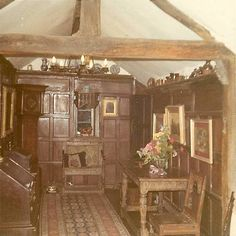 Interior Delft Cottage in Forest Cottage, Delft, Homesteading, Explore, History, World, 1970s, Painting, Interiors