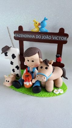 Farm Cake, 2nd Baby, Sugar Art, 3rd Birthday, Fondant, Biscuits, Cake Decorating, Baby Shower, Party