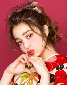 Japanese Kimono, Japanese Girl, Hair Arrange, Japanese Hairstyle, Oriental Fashion, Yukata, Easy Hairstyles, Hair And Nails, Trendy Outfits