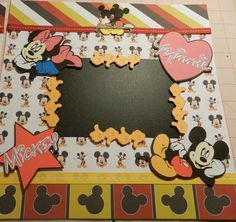Disney Mickey and Minnie Mouse 1