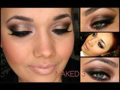 Dramatic smoked out Naked 3 eye look