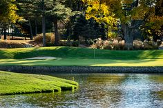 Wentworth By The Sea Country Club 18th Green by Rob Karosis #seacoast #golf