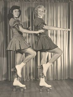 Lovely ladies from the 1950s
