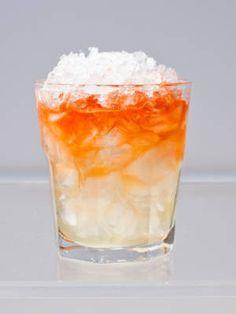 Oh, Canada (2 oz. Inniskillin Riesling Ice Wine 1 oz. aged rum ¾ oz. pineapple juice ½ oz. lime juice)