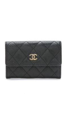 What Goes Around Comes Around Chanel Flap Card Holder