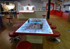 Interactive animation exhibit