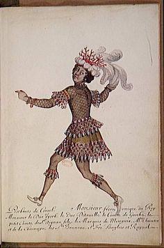 Ballet des noces de Pélée et Thétis. Pêcheur de corail Ecole : Ecole française…