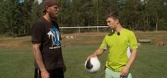 Boxer Shows Goal Keeper How To Punch A Soccer Ball – Viral Video