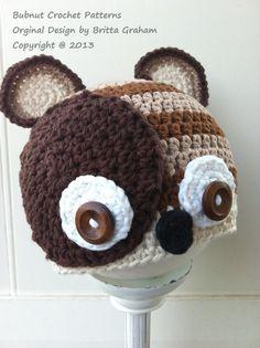 Cute Little Critter Crochet Hat Pattern No.308 by bubnutPatterns