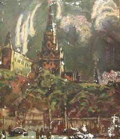 Konstantin Yuon - Bühnenbild Der Rote Platz