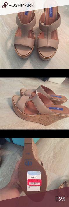 Dee Keller Tan Wedges Beautiful Dee Keller tan Wedges. Never worn. Just too tight for my feet :( Dee Keller Shoes Wedges