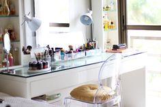 makeup, organized, penteadeira, tudomake