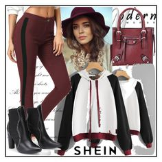 """Shein"" by adela-mehic ❤ liked on Polyvore"