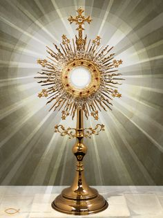Blessed be Jesus in the most Holy Sacrament of the Altar.