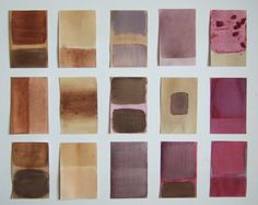 Natural Dyes Postcard Project