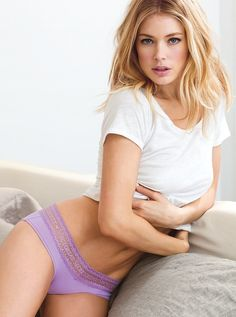 Doutzen Kroes – Victoria's Secret Lingerie Photoshoot