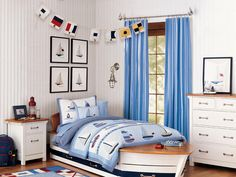 10 Themed Bedrooms for Kids : Rooms : Home & Garden Television...nautical room is nice!