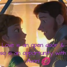 Contact me for more info about the Avon opportunity! Start your own business for only $15! http://www.youravon.com/ashleymiranda #avon #avonopportunity #frozen #loveisanopendoor