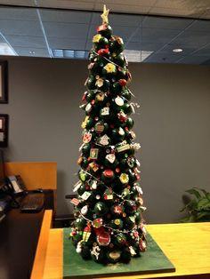 Wonderful Golfers Christmas Tree Made All With Golf Balls
