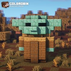 Casa Medieval Minecraft, Minecraft Statues, Minecraft Farm, Minecraft Cottage, Easy Minecraft Houses, Minecraft Plans, Minecraft Survival, Minecraft Construction, Amazing Minecraft