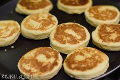 Gorditas Recipe Mexican, Tapas, Deli, Coffee Shop, Pancakes, Bread, Homemade, Breakfast, Recipes