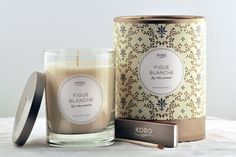 Fig Blanche Candle design by Kobo Candles
