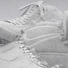 #Nike's #artisticsurprise – #Amazing #Sneakerball #Sculpture