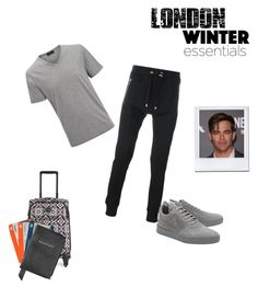 """02"" by esad-1 ❤ liked on Polyvore featuring Joseph, Balmain, Filling Pieces, Vera Bradley, Aspinal of London, Tim Holtz, men's fashion and menswear"