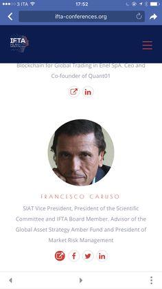 Il mio video per #ifta2017 #Milano #francescocaruso #cicliemercati #mercatifinanziari #financialadvisory #bitcoin #fintech #economy #assetallocation #wealthmanagement #bocconi #student #italyfirst #quant #technicalanalysis  #behavioralfinance #blockchain #cryptocurrency  http://www.ifta-conferences.org/speakers-page/