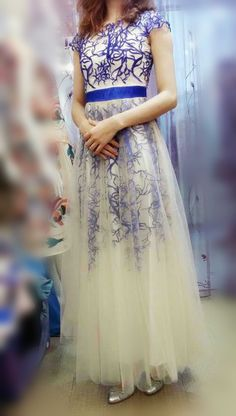 2015 Heavy Embroidered Evening Dress Dress Long Section Of Europe