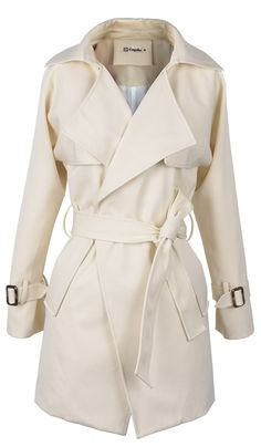 Get this lapel coat-only $41.99 with easy return+free shipping! This sash coat detailed with front & side pockets will offer you a chic girlboss like look! Go find it at Cupshe.com