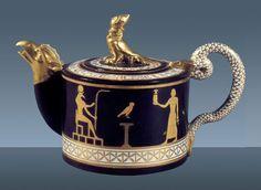 Royal Manufacture of Naples                                              Tea Pot -1785