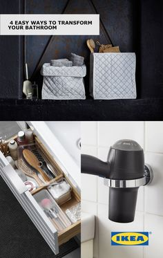 Relax Your Morning Rush And Get Your Bathroom Organized With These IKEA  Ideas To Transform Your