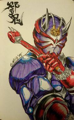 Kamen Rider Hibiki by Sato