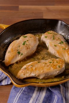 Upgrade chicken breasts with a creamy, Mexican sauce. Use cashew milk instead of the 1 tbsp cream