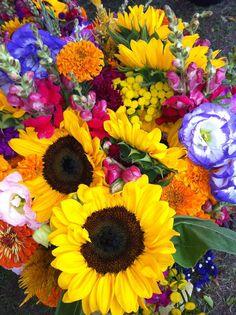 Farmer's Market Bouquet by Maggy Thompson for I Spy Le Creuset.