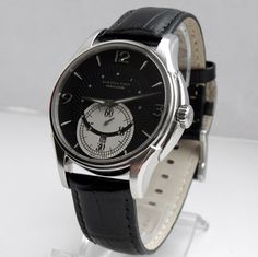 Hamilton Jazz Master H325550 automatic Men`s watch black Cal. 2895-2 | eBay
