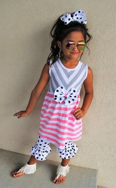 The Avery Ruffle Capri Set #boutique-outfits #new #newborn-clothing #newborn-sets #perfect-sets #spring-line