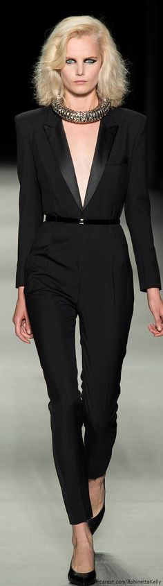 Saint Laurent | S/S 2014  Repinned by www.fashion.net