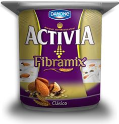 Yogurt Entero de Fibramix #Activia #Chile